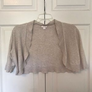 Soft Pale Brown/Tan Cardigan/Cover-Up